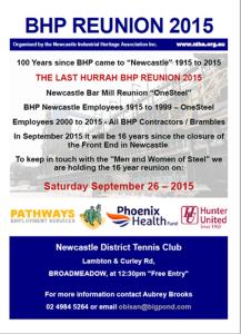 BHP Reunion 2015