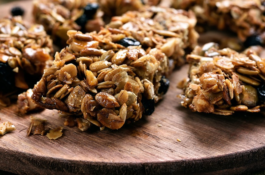 Healthy Eating - Muesli Bars