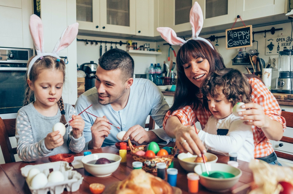 Things to do at home this Easter